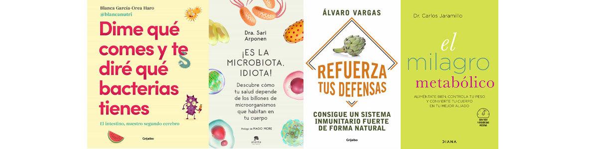 4 Libros Para Poner En Forma Tu Microbiota Abacus Cooperativa